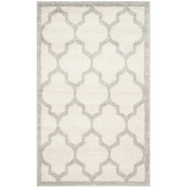 Maritza Beige/Light Grey Flat Woven Area Rug by Willa Arlo Interiors