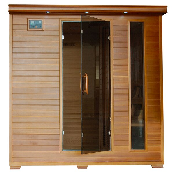 Puretech Low EMF 6 Person FAR Infrared Sauna by Radiant Saunas