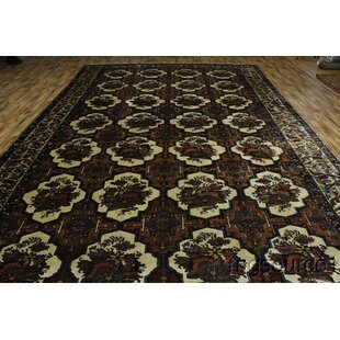 Chafin Traditional Bakhtiari Persian Hand-Knotted Wool RedBurgundy IndoorOutdoor Area Rug