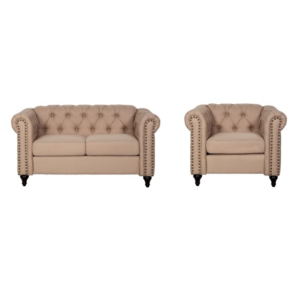Migdalia 2 Piece Living Room Set by Alcott Hill Alcott Hill