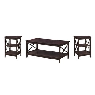 Stoneford 3 Piece Coffee Table Set Beachcrest Home