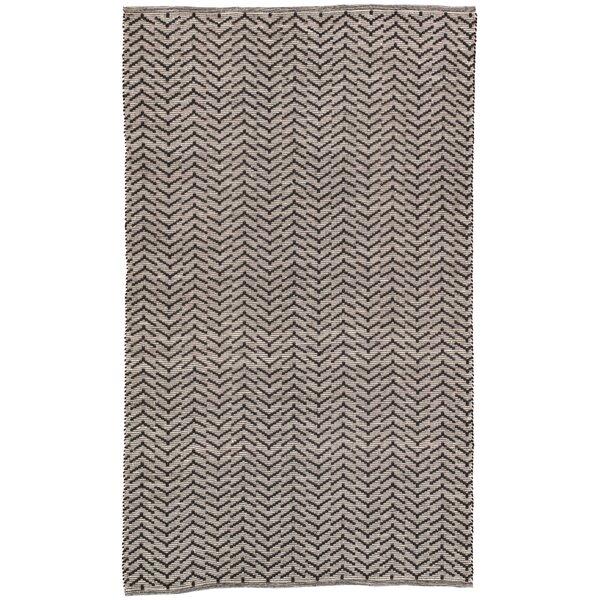 Wray Handwoven Flatweave Black/ Gray Indoor/Outdoor Area Rug by Bungalow Rose