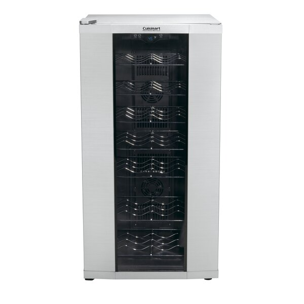 32 Bottle Dual Zone Freestanding Wine Cooler by Cu
