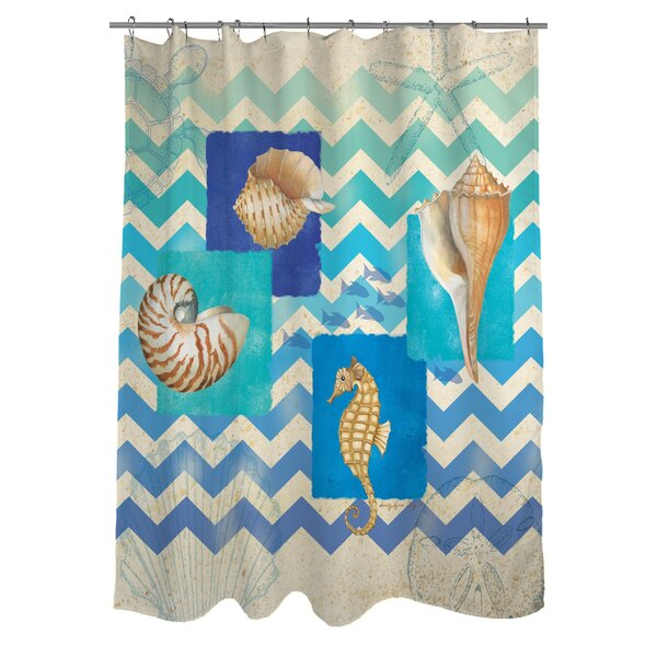 Deep Blue Sea Shower Curtain by Manual Woodworkers & Weavers