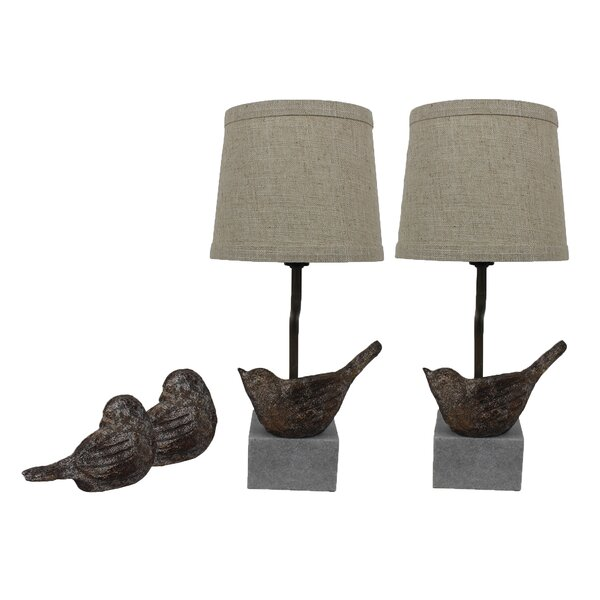Israel Bird I 14 Table Lamp (Set of 2) by Ophelia & Co.