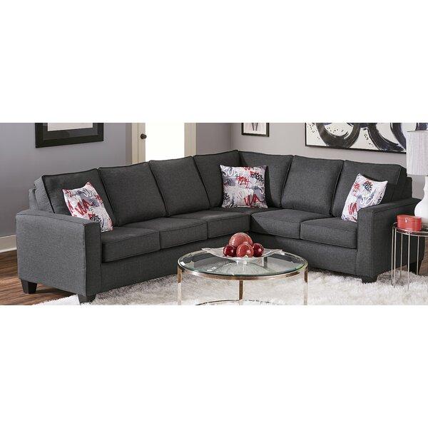 Pelzer 131-inch Symmetrical Sectional by Ebern Designs Ebern Designs