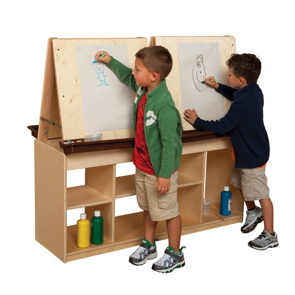 Natural Environment Double Sided Flipchart Easel by Wood Designs