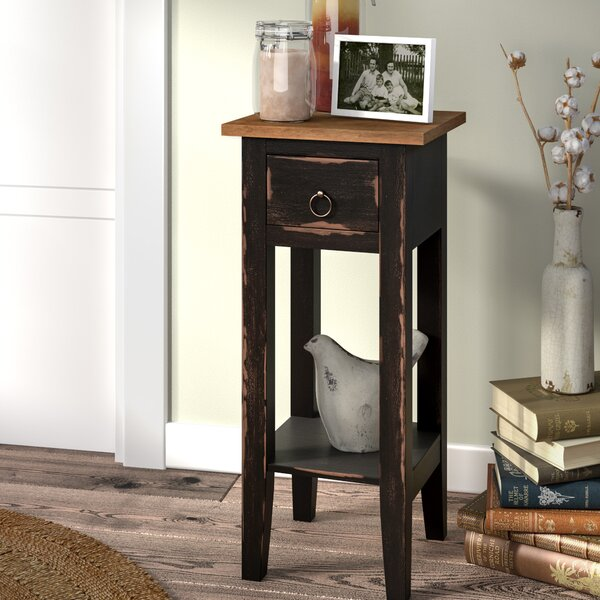Tompkins Narrow End Table With Storage By Laurel Foundry Modern Farmhouse