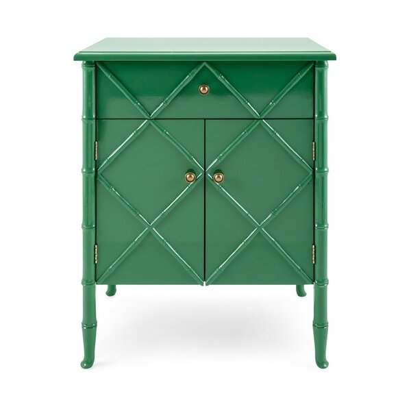Grady Spacious Wooden 1 Drawer Accent Chest