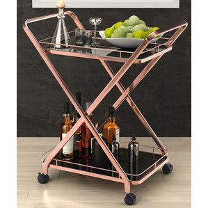 Spaulding Bar Cart by Brayden Studio