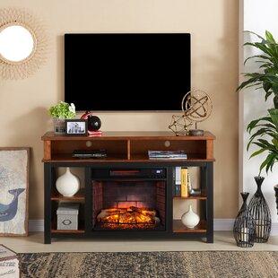 Contreras Infrared TV Stand with Fireplace
