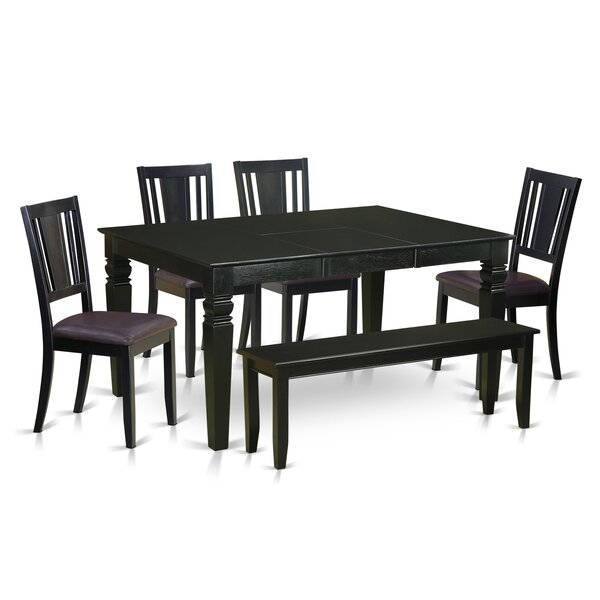 Sorrentino 6 Piece Dining Set