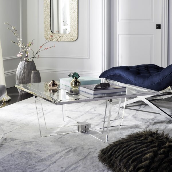 Gould Coffee Table with Tray Top by Orren Ellis