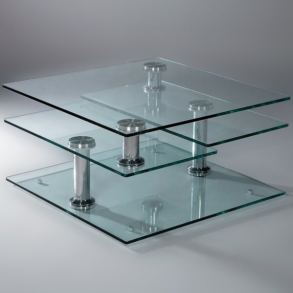 Tauranac Extendable Floor Shelf Coffee Table With Storage By Orren Ellis