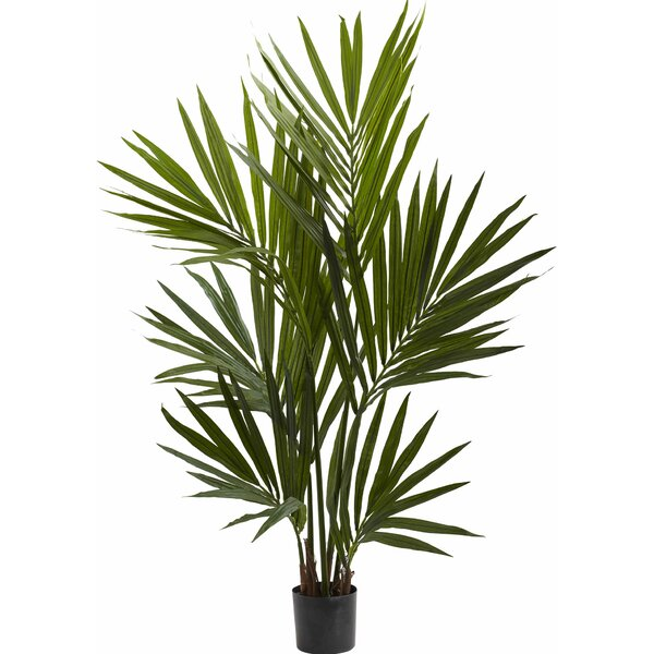 Kentia Palm Silk Tree in Pot by Nearly Natural