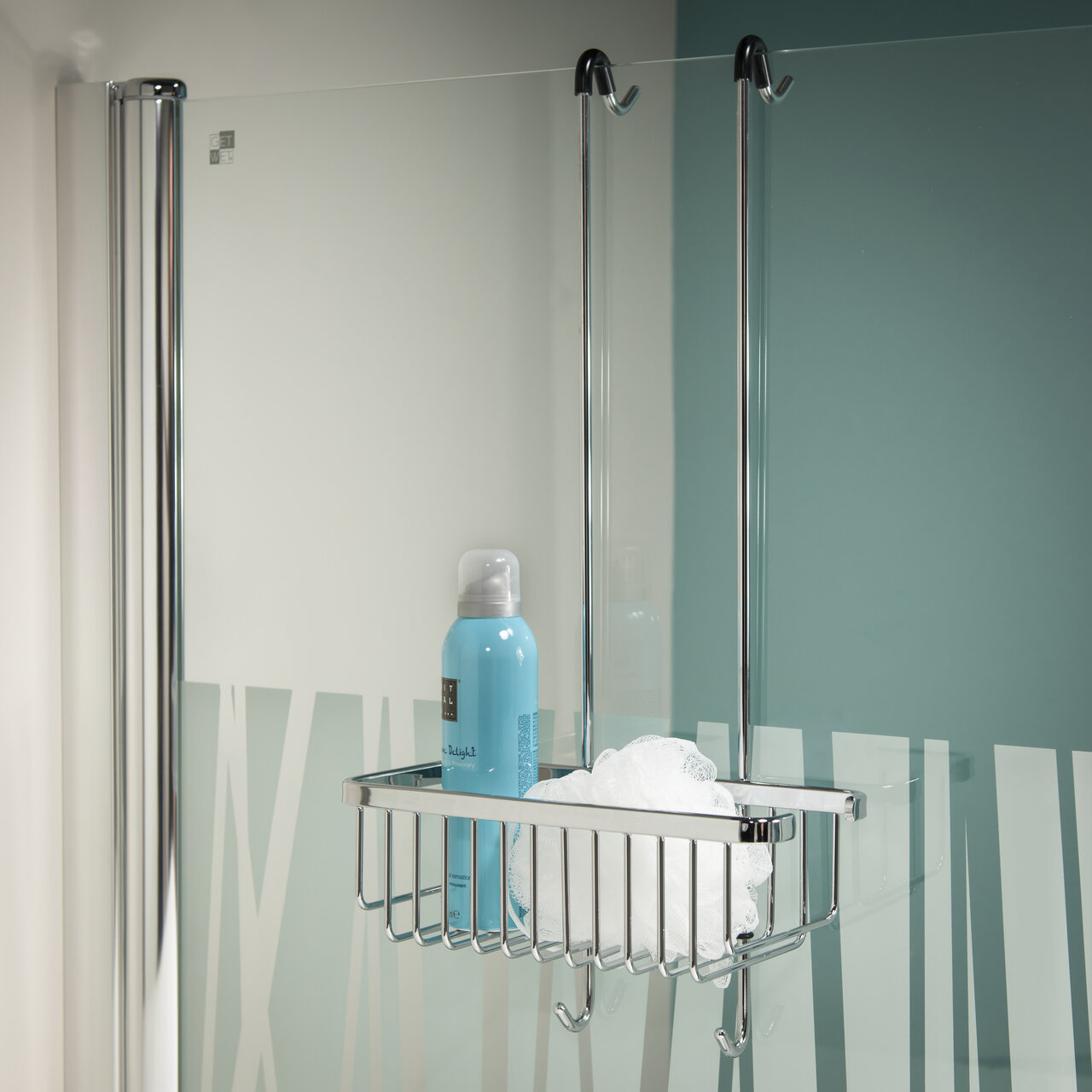 Rebrilliant Carrington Exquisite Hanging Shower Basket | Wayfair