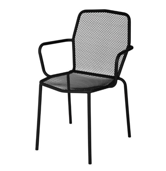 Avalon Stacking Patio Dining Chair by BFM Seating