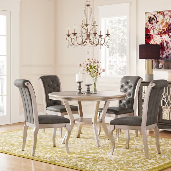 Hornfels 5 Piece Dining Set by Rosdorf Park