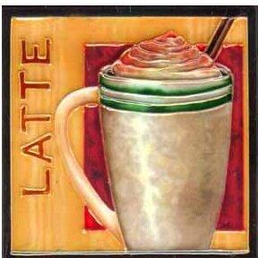 Latte Tile Wall Decor by Continental Art Center
