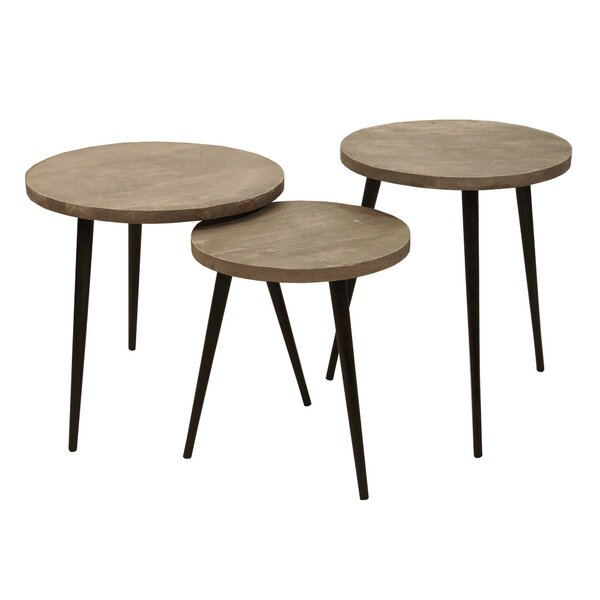 Speriber 3 Piece Nesting Tables By Union Rustic