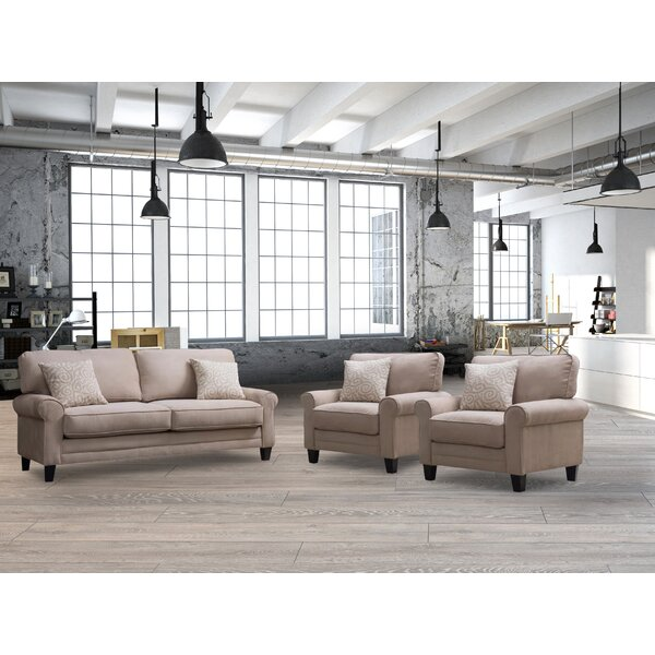 Syracuse Configurable Living Room Set by Highland Dunes