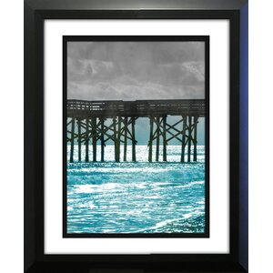 Teal Docks II' Photographic Print by Star Creations