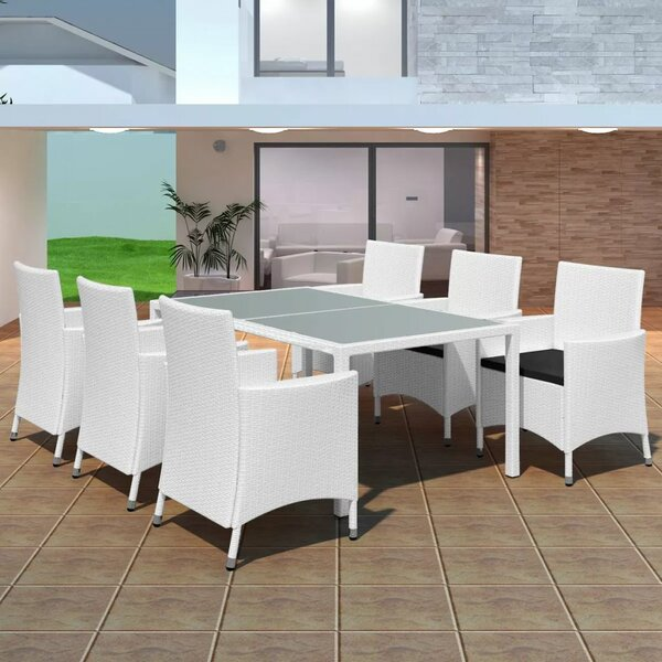Rosamond 7 Piece Dining Set with Cushions by Brayden Studio