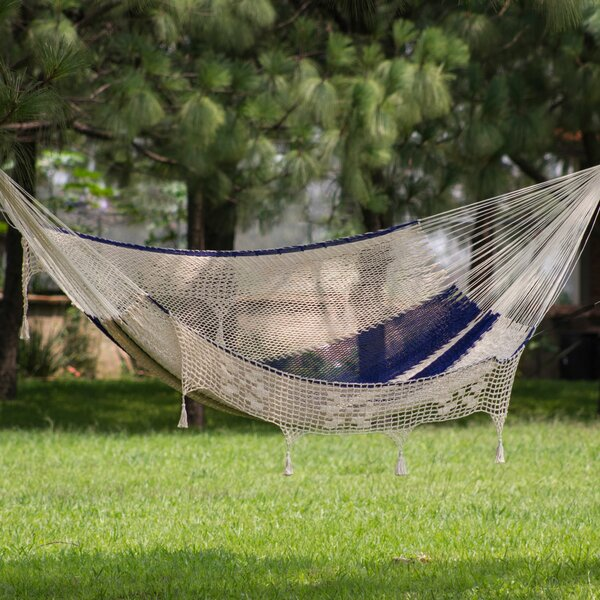 Sumaiyah Cotton Tree Hammock by World Menagerie