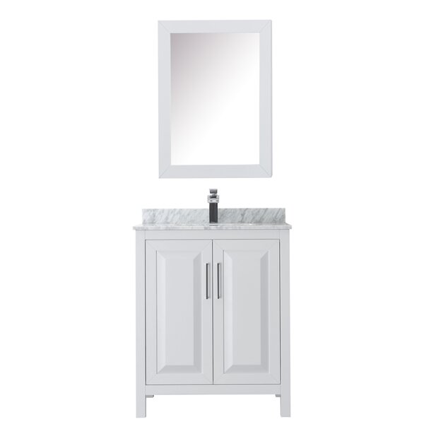 Daria 30 Single Bathroom Vanity Set with Medicine Cabinet by Wyndham Collection