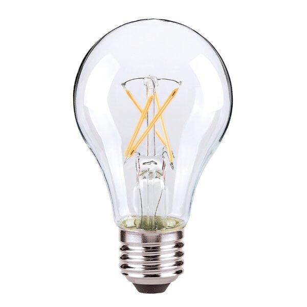 E26/Medium (Standard) LED Vintage Filament Light Bulb by Satco