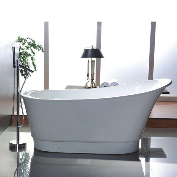67 x 31.5 Freestanding Soaking Bathtub by Vanity Art