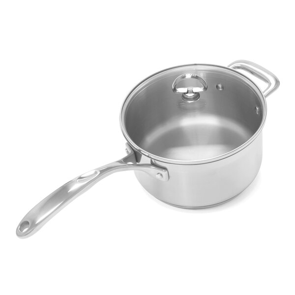 Induction 21 Steel™ 3.5-Qt. Saucepan with Lid by Chantal