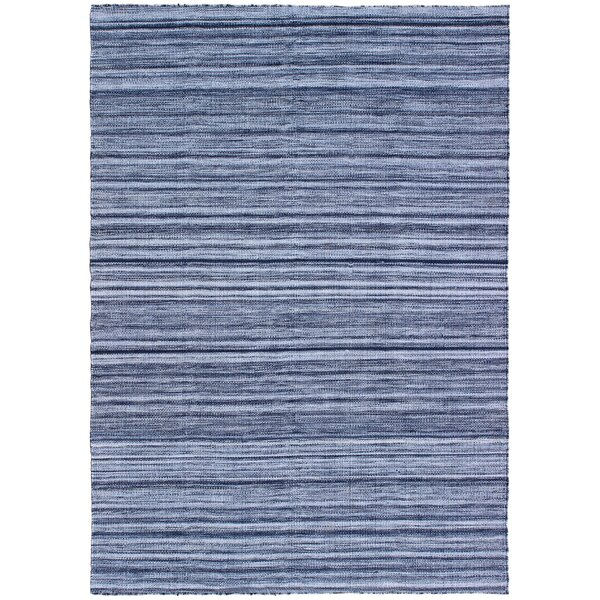 Englund Ombre Hand-Woven Blue Indoor/Outdoor Area Rug by Breakwater Bay