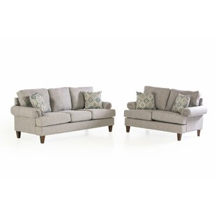 Ryker 2 Piece Standard Living Room Set by Sand & Stable™