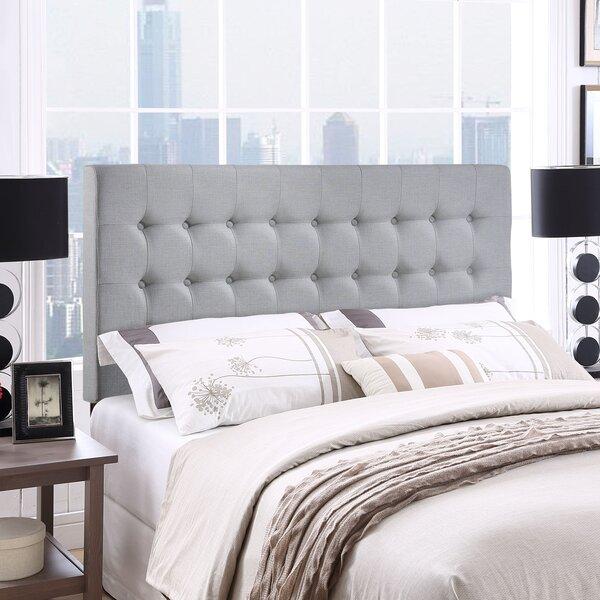 Bessler Queen Upholstered Panel Headboard by Zipcode Design