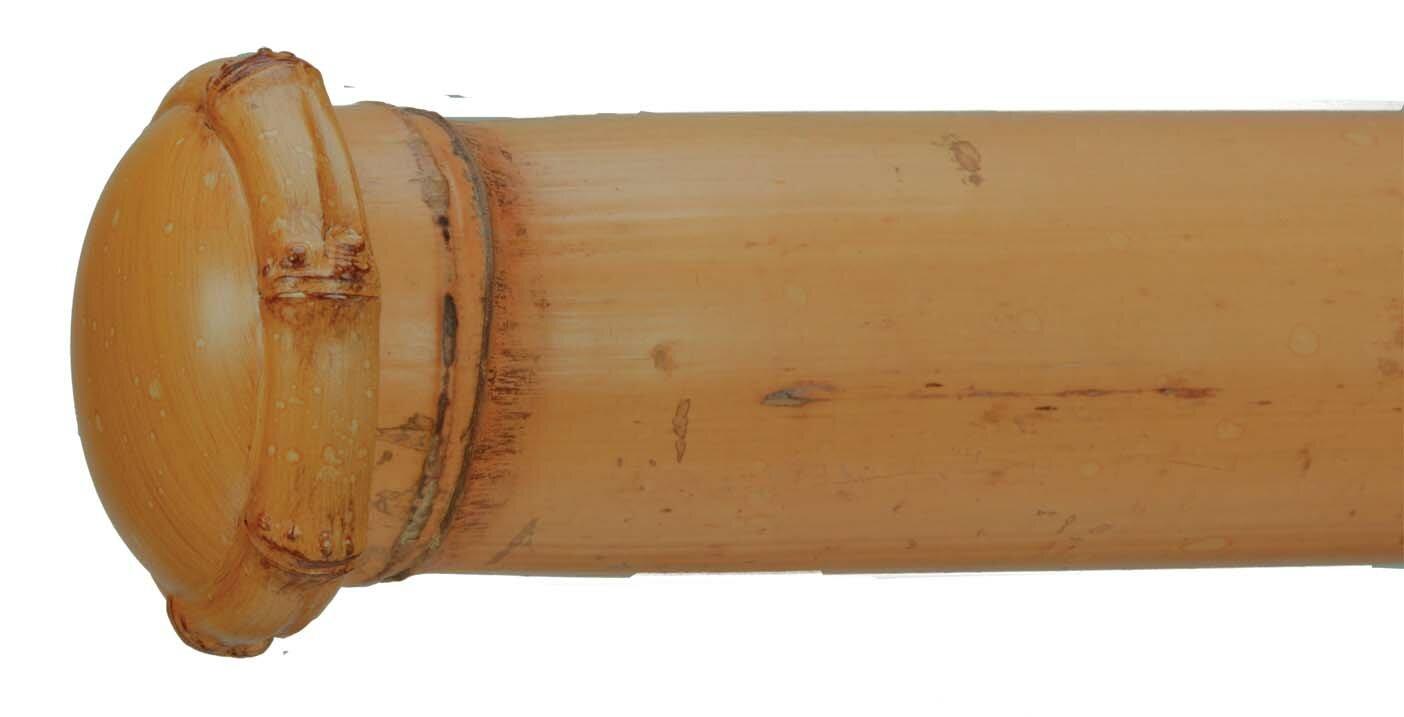 Bamboo Curtain Finial