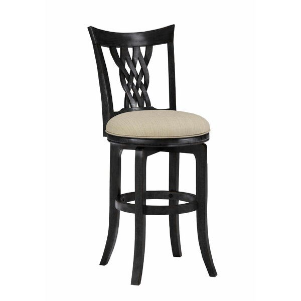 Tullis 24 Swivel Bar Stool by Darby Home Co