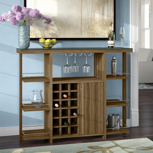 Malin Bar with Wine Storage by Red Barrel Studio