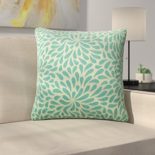 Tessier Chrysanthemum Throw Pillow by Latitude Run
