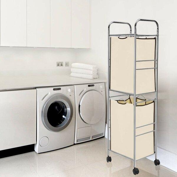 Rebrilliant Laundry Sorter Hamper Cart