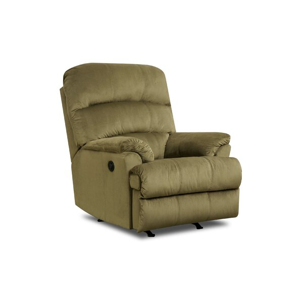 Simmons Upholstery Eide Manual Rocker Recliner