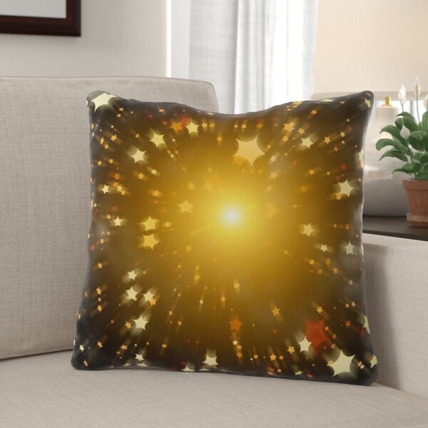Pehrson Star Indoor/Outdoor Canvas Throw Pillow