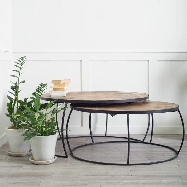 Delisio 2 Piece Coffee Table Set By Foundry Select