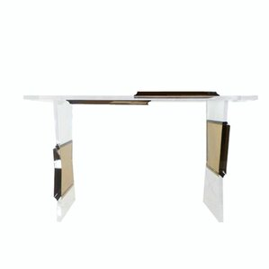 Acrylic Console Table by Serge De Troyer Collection
