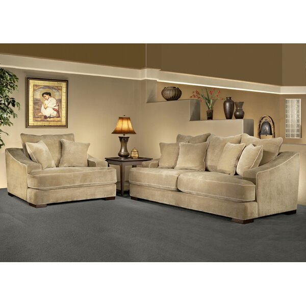 Marina 2 Piece Living Room Set by Fleur De Lis Living