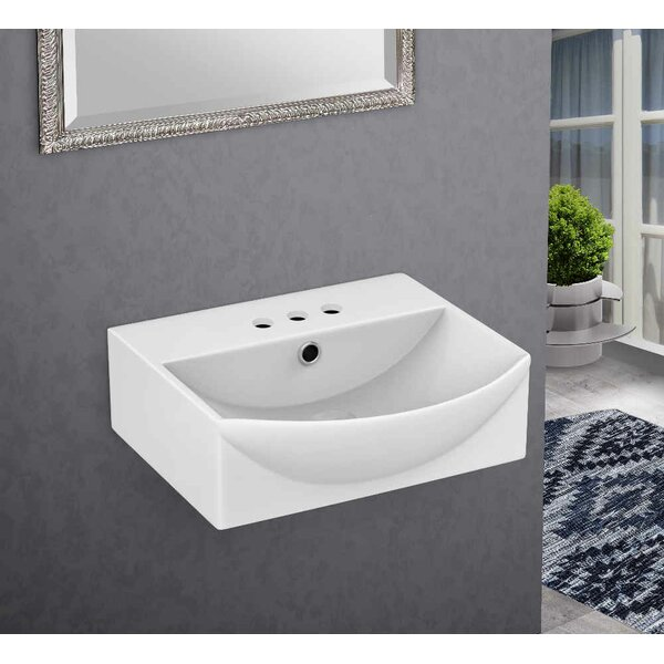 Ceramic 15.75 Bathroom Sink with Overflow by Royal Purple Bath Kitchen