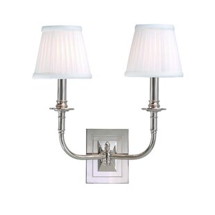 Inexpensive Elkville 2-Light Candle Wall Light By Darby Home Co