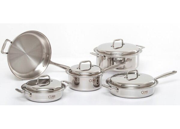 5 Piece Cookware Set by 360 Cookware