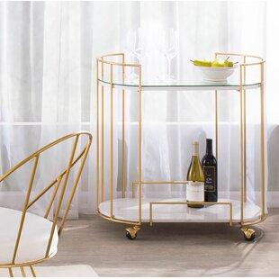 Lystra Bar Cart by Everly Quinn