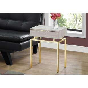 Find the perfect Harva End Table with Storage ByMercer41